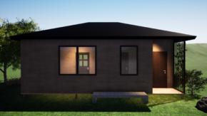 Фундамент одноэтажного дома 8x8