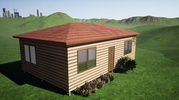 Фундамент одноэтажного дома  6x10