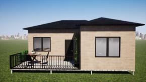 Фундамент одноэтажного дома 9x9