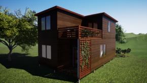 Фундамент двухэтажного дома  6x10