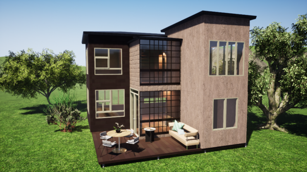 Фундамент двухэтажного дома 10х8