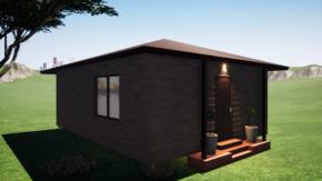 Фундамент одноэтажного дома 6x8