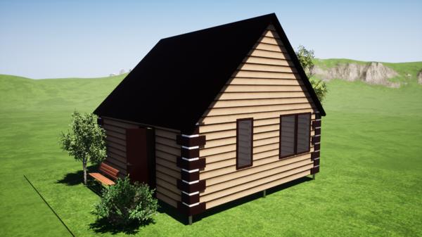 Фундамент одноэтажного дома 6x6