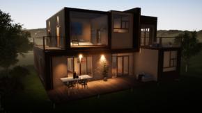 Фундамент двухэтажного дома 12х12